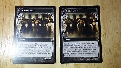 1x Bitter Ordeal Future Sight MtG Magic Black Rare 1 x1 Card Cards