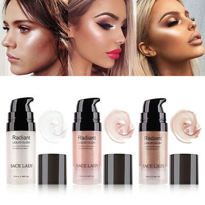 6ml Face Eye Glitter Liquid Highlighter Lip Nose Glow Kit Brighten Cosmetic