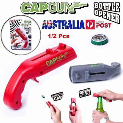 2019 NEW Firing Cap Gun Creative Useful Bottle Opener Free Shipping