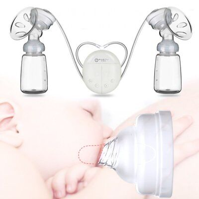 Rechargeable Portable Electric Breastfeeding Milk Pump USB Breast Pumps -4 Modes
