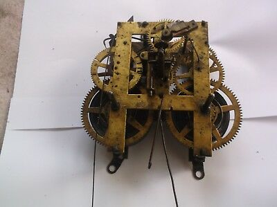 E Ingraham Mechanism  From An Old  Mantle Clock Spares Repair