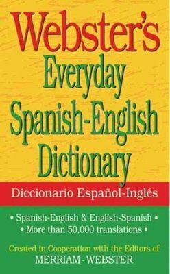 Webster's Everyday Spanish-English Dictionary (2011, Paperback)
