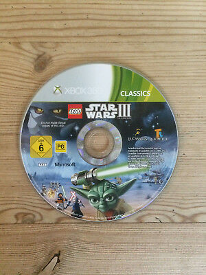 Lego Star Wars III (3) for Xbox 360 *Disc Only* Classics