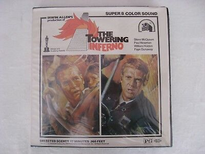 Super 8 The Towering Inferno El Coloso en Llamas Color Sonido 120m aprox
