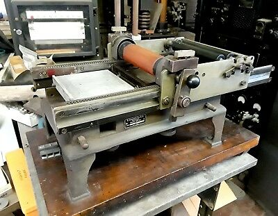 B Grauer & Son OFFSET/PROOF LETTER PRESS for Artist or Commercial Use -