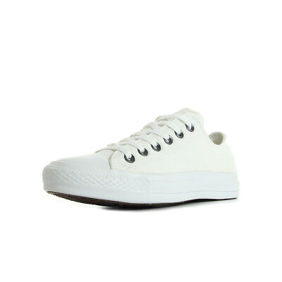 dac0c931367ba Chaussures Baskets Converse unisexe Chuck Taylor All Star taille Blanc  Blanche