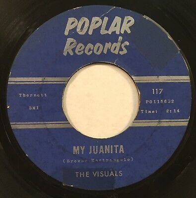 The Visuals My Juanita - A Boy A Girl And A Dream On Poplar Records