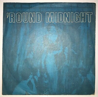 Dakota Staton Round Midnight - Knock Me A Kiss On Capitol Rare Promo Sleeve