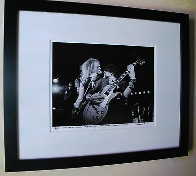 Reckless Road Guns N' Roses debuted Nightrain fine art photo 1985 signed 19/100