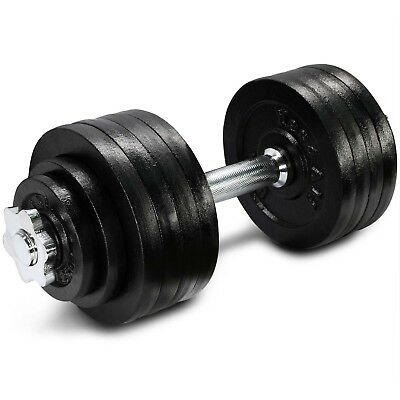 Yes4All 52.5 lb Adjustable Dumbbell Weight Set - Cast Iron Dumbbells²3