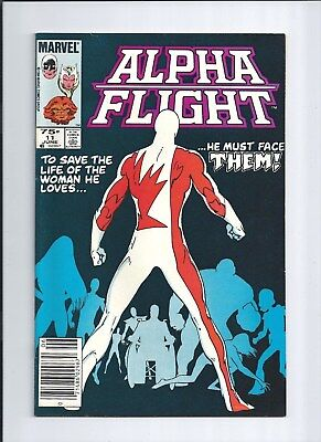 Alpha Flight #11 NM- (9.2) Canadian Price Variant! 4 characters 1st Appearance!