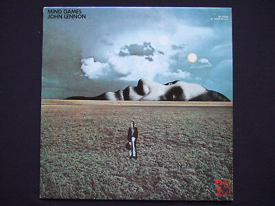 John Lennon - Mind Games - scarce Canadian green Capitol label reissue; NM vinyl