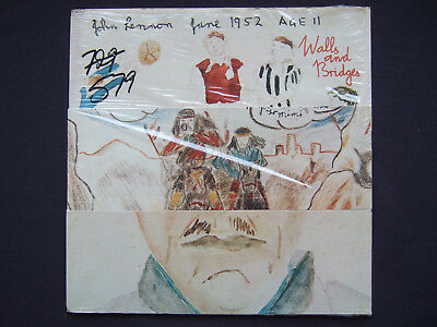 John Lennon - Walls and Bridges - original Canadian Apple LP -  EX in shrink!