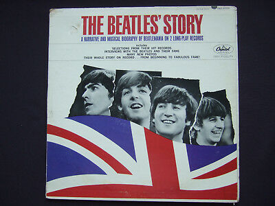 Beatles - The Beatles Story - rare original Canadian mono LP - Capitol of Canada