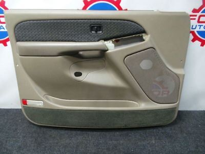 03-06 Chevy Avalanche Tan left front drivers door panel oem