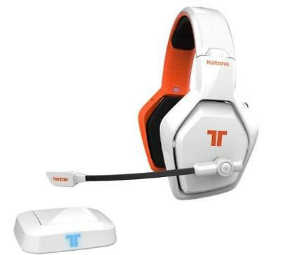 Mad Catz TRITTON Katana HD 7.1 Headset for PS4 PC, Smart Devices Wireless White