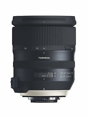 Tamron SP 24-70mm F/2.8 Di VC USD G2 Fast Zoom Lens for Nikon - Open Box Demo