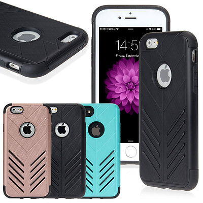 Shockproof Rugged Hybrid Hard Protective Phone Case Cover For iPhone 6/6s/7/7+