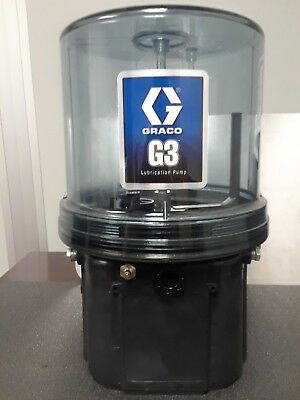 GRACO 96G048 G3 Standard 24VDC 4 Liter Pump w/Wiper Arm & External Low Level,