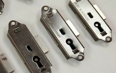 Lot of (3) SELBY (Germany) Grandfather Clock Case LOCKS, Surface Mounted, New