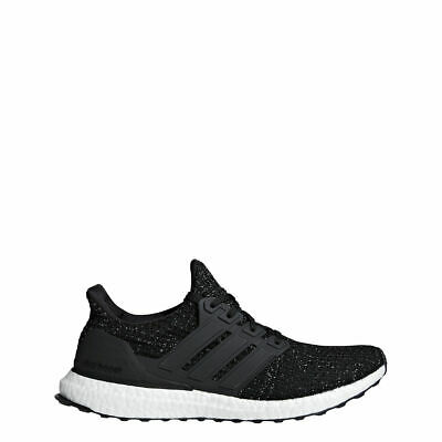 Adidas Men's Ultra Boost - NEW IN BOX - FREE SHIP - Black/White Speck - F36153 +