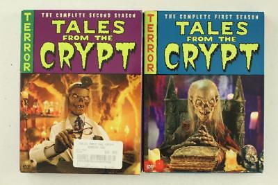 DVD Box Set Lot TALES FROM THE CRYPT Seasons 1-2 HORROR TV Series