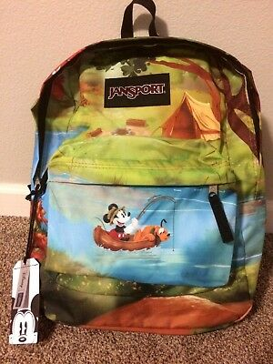 ec88b809e8a JANSPORT x DISNEY Mickey Mouse   Pluto Forest Camp High Stakes Backpack NWT