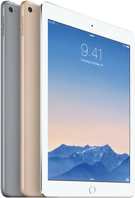 Apple iPad Air 2 Retina16 32 64 GB WiFi 4G Grey Silver Gold  Grade A B C 12 M W