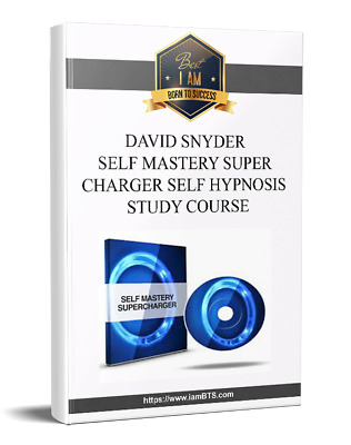 David Snyder - Self Mastery Supercharger Self Hypnosis Study Course (RRP $1,497)