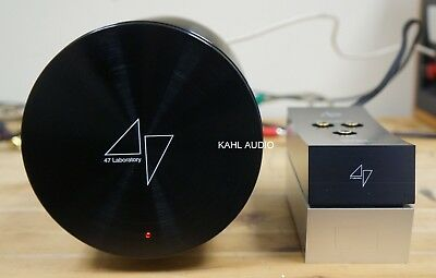 47 Labs 4705 Progression DAC with 4799 Power Dumpty. Pure music! $4,900 MSRP
