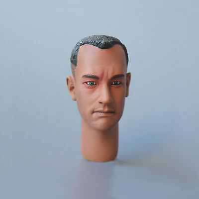 "Custom 1:6 Scale Forrest Gump Tom Hanks Headsculpt For 12"" Toy Male Figure Doll"