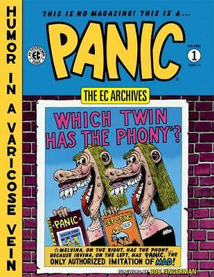 """Ec Archives """"panic"""" Volume One Hardcover Collects Panic Issues #1-6  $Ave 50%"""