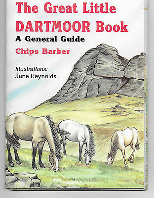 Dartmoor England guide books, postcard Chips Barber