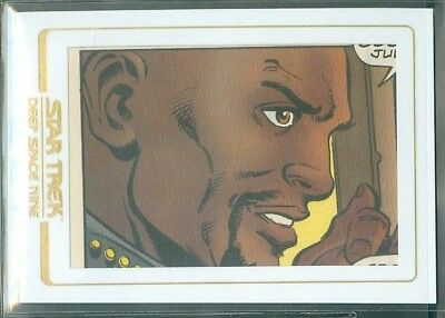 Star Trek DS9 Heroes & Villains  ( CC4 ) Comic Cuts  Limited to 99