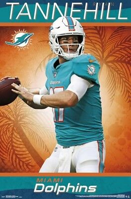 Ryan Tannehill GUNSLINGER Miami Dolphins 2018 NFL Football Official WALL POSTER