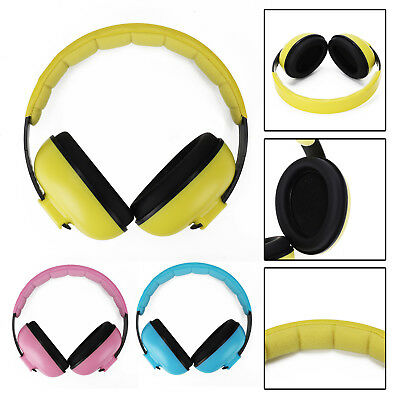 BABY Childs Ear Defenders Earmuffs Protection 3 COLOURS 3months Boys & Girls