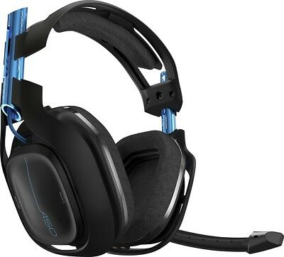 ASTRO Gaming A50 Wireless Dolby Gaming Headset (Black/Blue) PS4 / PC - READ - UD