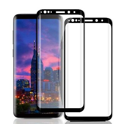 2x 3d Tempered Glass for Samsung Galaxy s9 Curved Protection Glass 9h Protectio