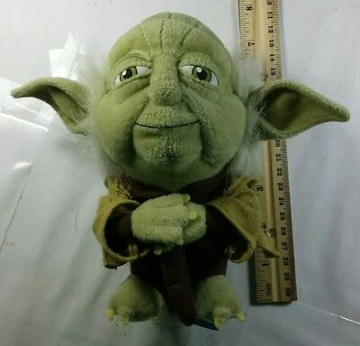 Star Wars Plush Yoda Toy 7 Inch Used Loose