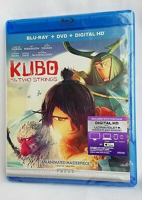Kubo and the Two Strings Blu-ray DVD 2016 2-Disc Set