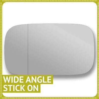 Left Passenger side Wide Angle Wing door mirror glass for Alfa Romeo 164 1988-97