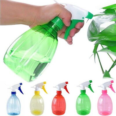 UK 500ml Plant Empty Spray Bottle Plastic Watering Can The Flower Water Spray