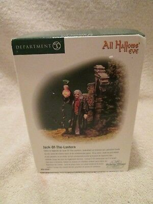 Dept 56 Dickens Village All Hallow's Eve Jack of the Lantern #58-58561 Boxed