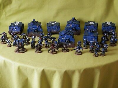 Warhammer 40K Space Marines Ultra Army - Many Units To Choose From