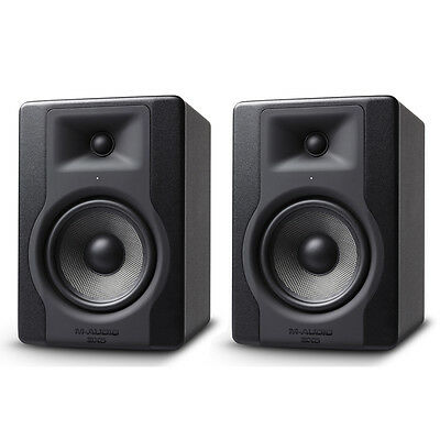"2 x M-Audio BX5 D3 5"" 200W Active Powered Studio Monitor Speaker Band Producer"