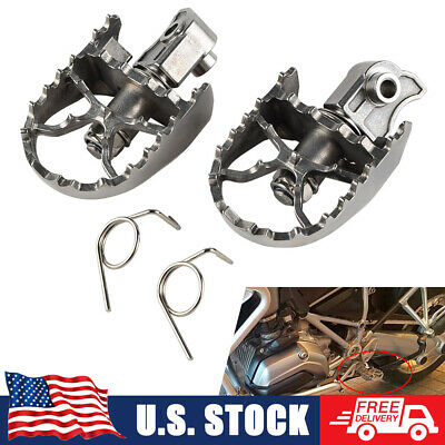 MX Wide Foot Peg Footpegs For BMW F650GS 00-12 F800GS 08-13 R1200GS 04-12 F700GS