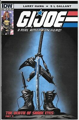 IDW GI Joe ARAH 215 Death of Snake Eyes variant cover A *COMBINE FREE SHIPPING!