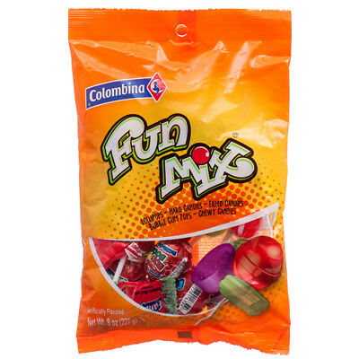 New 369893  Colombina Fun Mix 8 Oz (12-Pack) Candy Bag Wholesale Discount Bulk