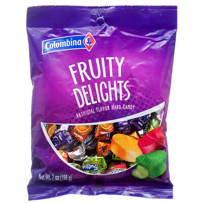 New 369891  Colombina Fruity Delights 7 Oz (12-Pack) Candy Bag Wholesale