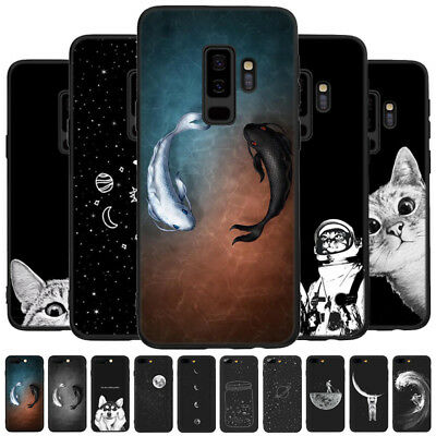 Space TPU Silicon Rubber Thin Case Cover For Samsung Galaxy Note 10+/S10/S7 Edge